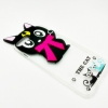 เคสใสแต่งแมวเซเลอร์มูน 3d ไอโฟน (7plus) 5.5 นิ้ว