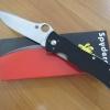 "Spyderco C55GP Terzuola Starmate Folding Knife 3.75"" VG10 Blade, G10 Handles"