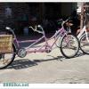 ตะกร้าหวายแท้ แบบแขวนตะแกรงหลังจักรยาน