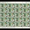 แสตมป์พระราชอัจฉริยภาพด้านโทรคมนาคม พิมพ์ทับแก้ราคา 10 บาท Surcharged ปี 2553 (ยังไม่ใช้)
