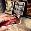 เคสกระจกเงาติดแหวนหัวหมี ไอโฟน 7 4.7 นิ้ว