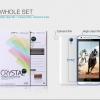 ฟิล์มใส กันรอยนิ้มมือ HTC Desire 620G