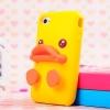 เคสซิลิโคนเป็ดเหลือง 3d ไอโฟน 5,5s