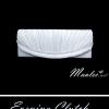พร้อมส่ง Evening Clutch กระเป๋าออกงาน สีขาวมุก