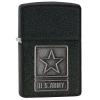 ไฟแช็ค Zippo แท้ 28583, United States Army, Emblem, Black Crackle Finish Lighter แท้นำเข้า 100%