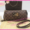 Louis Vuitton Damier Canvas Eva Clutch Bag **เกรดท๊อปมิลเลอร์** (Hi-End)