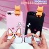 Case iPhone 7 (4.7 นิ้ว) พลาสติกลายน้องหมา Corgi น้อยแสนน่ารัก พร้อมตุ๊กตา 3 มิติ ราคาถูก
