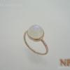 แหวนเงินมูนสโตน(Silver ring moonstone)