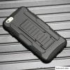 เคส iphone 6 plus 5.5 นิ้ว เคสกันกระแทก สวยๆ ดุๆ เท่ๆ แนวถึกๆ อึดๆ แนวทหาร เดินป่า ผจญภัย adventure เคสแยกประกอบ 3 ชิ้น ชั้นในเป็นยางซิลิโคนกันกระแทก ครอบด้วยแผ่นพลาสติกอีก1 ชั้น กาง-หุบขาตั้งได้ มีปลอกฝาหน้าแบบสวมสไลด์ ใช้หนีบเข็มขัดเพื่อพกพาได้