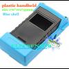Blue plastic handheld