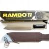 มีดเดินป่าใบตาย RAMBO IV แรมโบ้ 4 สุดโหด (สีเงิน)