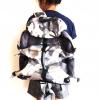 กระเป๋าเป้ DENUONISS สีเทาลายทหาร รหัส DO-4