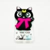 เคสใสแต่งแมวเซเลอร์มูน 3d ไอโฟน 5/5se/5s