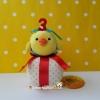 ตุ๊กตาไก่ คิอิโระอิโทริ เพื่อนเกลอรีลัคคุมะ ฉลองครบรอบ 3 ปี Kiiroitori Rilakkuma 3rd anniversary ใหม่พร้อมป้ายห้อย