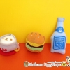 ตุ๊กตาไซส์พวงกุญแจรีลัคคุมะ Rilakkums cooking set