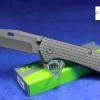 "Schrade Frame Lock Folding 3.7"" Plain Tanto Blade SCH302"