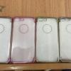 เคสนิ่มแต่งสีโครเมียม โชว์โลโก้ ไอโฟน 7 plus(5.5 นิ้ว)