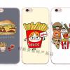 Case iPhone SE / 5s / 5 พลาสติก TPU ลายเบอร์เกอร์ แซนวิช น่ารักมากๆ ไม่ซ้ำใคร ราคาถูก