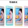 Case OPPO R7 Lite / R7 ซิลิโคน TPU soft case แบบฝาพับโปร่งใสสีต่างๆ สวยงามมากๆ ราคาถูก