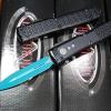 Microtech Ultratech Jedi Knight OTF Knife Blue 122-1JK