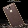 เคส Huawei Mate 7 เคสหนังเทียมขอบทอง นิ่ม เรียบหรู สวยมาก ราคาถูก