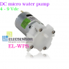 DC micro water pump