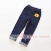 กางเกงเด็กปักเป็ดซัลลี่ที่กระเป๋าหลัง สียีนส์ แพ็ค 3 ชิ้น [size 3y-4y-5y]