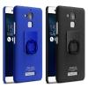 เคส Asus Zenfone 3 Max (5.2 นิ้ว ZC520TL) พลาสติกสีพิ้นพร้อมแหวนมือถือสำหรับตั้ง ราคาถูก