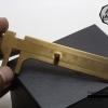 เวอร์เนียทองเหลือง Vernier Caliper cm. Single Scale ใช้วัดขนาดชิ้นส่วนต่างๆ ขนาด 8 เซนติเมตร