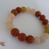 กำไลหยกน้ำผึ้งคละสี(Burma jade bracelet)