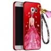 เคส Samsung S6 Edge Plus พลาสติกลายผู้หญิงแสนสวย พร้อมที่คล้องมือ สวยมากๆ ราคาถูก