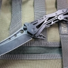 Quartermaster QTR-12TT General Lee 2 Texas Tea Black Stonewash Sheepsfoot Blade