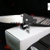 Microtech Socom Elite Manual Stonewash Serrated MT16011