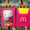 Hello kitty x Birdie of McDonaldLand collections plush doll (box set) ☆ สินค้าใหม่มือ1 !! ตุ๊กตาคิตตี้นกเบิร์ดดี้ชุดชมพูคอลเลกชั่นสะสมแมคโดนัลด์