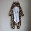 ชุดแฟนซีสัตว์เสือดาว+รองเท้าการ์ตูน