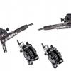 ชุดดิส XT ธรรมดา, F/R, BL/BR-M8000/SM-BH90, ประกอบเสร็จ, W/FIN, แผ่นเบรคมีคลีบ,