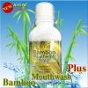 Bamboo Mouthwash Plus แบมบู เมาท์วอช พลัส น้ำยาบ้วนปาก สูตรใหม่