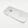 เคสฝาหลังแข็งมีโลโก้แอปเปิ่ล ไอโฟน 6/6s 4.7 นิ้ว-เงิน