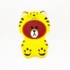 เคสซิลิโคนหมีบราวน์ใส่ชุดเสือ OPPO F1S/A59-ชุดเหลือง