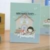 Mini Mate Diary Ver.4 (Blue)