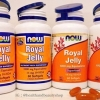 # อาหารเสริมนมผึ้ง # Now Foods, Royal Jelly, 60 Softgels