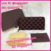 Louis Vuitton Damier Zippy Wallet กระเป๋าสตางค์หลุยส์ ใบยาว ซิบรอบ **เกรดAAA+**