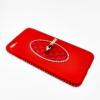 เคสนิ่มขอบเพชรติดแหวนเตลือบสีเมทัลลิค ไอโฟน 7plus 5.5 นิ้ว