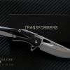 มีดพับ Transformers ทรานส์ฟอร์เมอร์ รุ่น G01-BK ด้ามสีดำของแท้ 100%