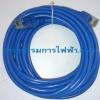 สายแลน (Lan) สีฟ้า CAT5e ยาว 5 เมตร