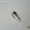 แหวนเงินการ์เนต(Silver ring garnet)