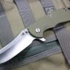 "RHK XM18 3.5"" Skinner 2-Tone Satin Blade OD Green G-10"