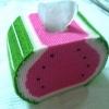 กล่องทิชชูแผ่นเฟรมแตงโม