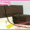 Louis Vuitton Damier Canvas Bum Bag Brooklyn **เกรดท๊อปมิลเลอร์** (Hi-End)