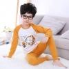 ชุดนอนลิงสีน้ำตาล แพ็ค 3 ชุด [size: 2y-3y]